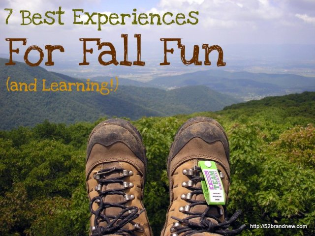 best experiences fall fun learning
