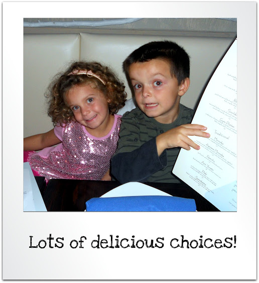 kids and greek food menu