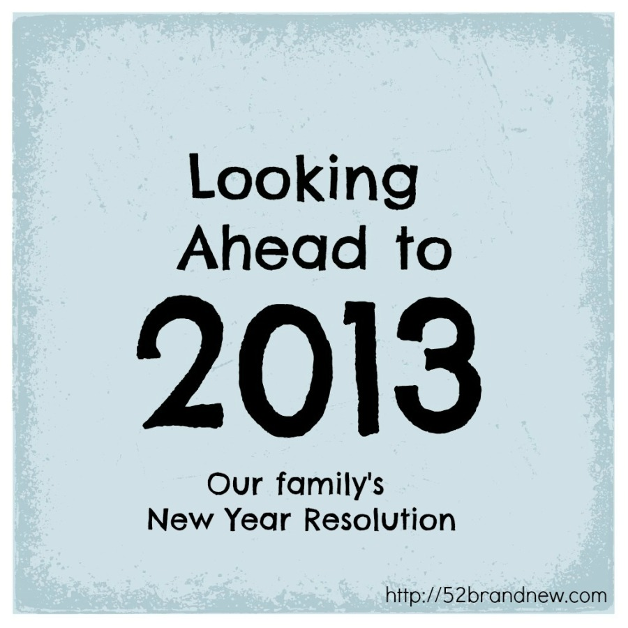 looking ahead to 2013